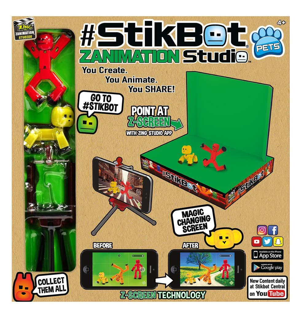 Zing StikBot Zanimation Studio Pets