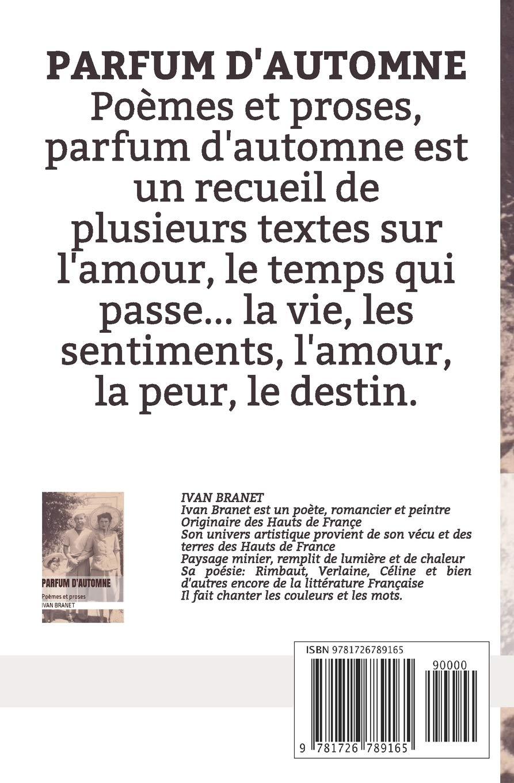Parfum Dautomne Poèmes Et Proses French Edition Ivan