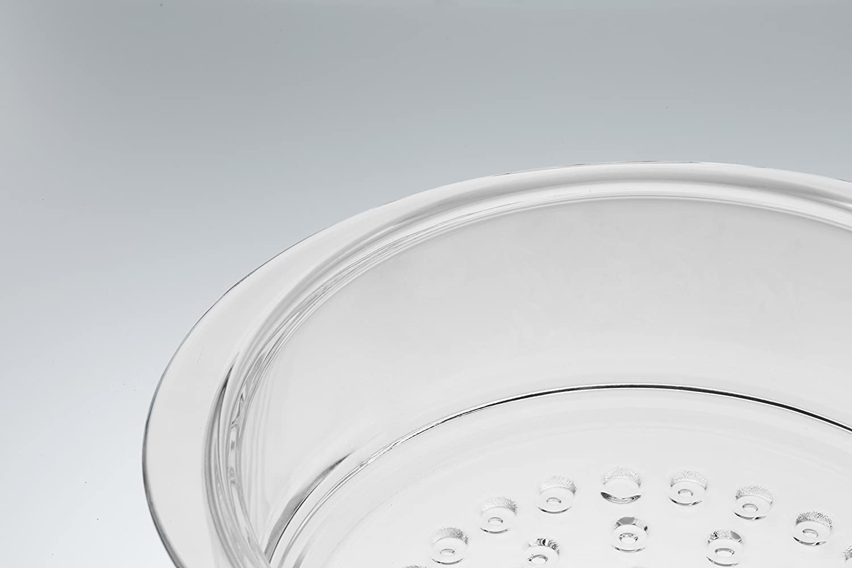 Round suitable for Titanium Plus 2000 Series Glass 20 cm SKK 06020 Glass Steaming Basket