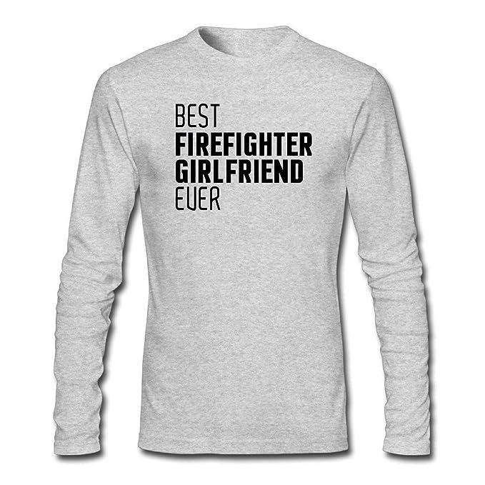 6171cb72 Firefighters Girlfriend Hoodie Navy Blue Source · Amazon com ZWEN Men s  Best Firefighter Girlfriend Ever T Shirts