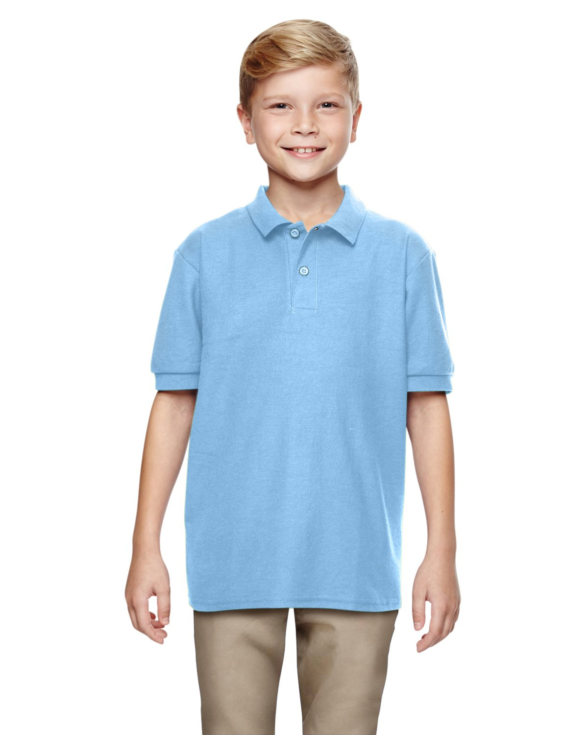 Gildan - DryBlend Youth Double Pique Sport Shirt - 72800B