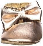 Robeez Girls' Premium Leather Moccasins Crib
