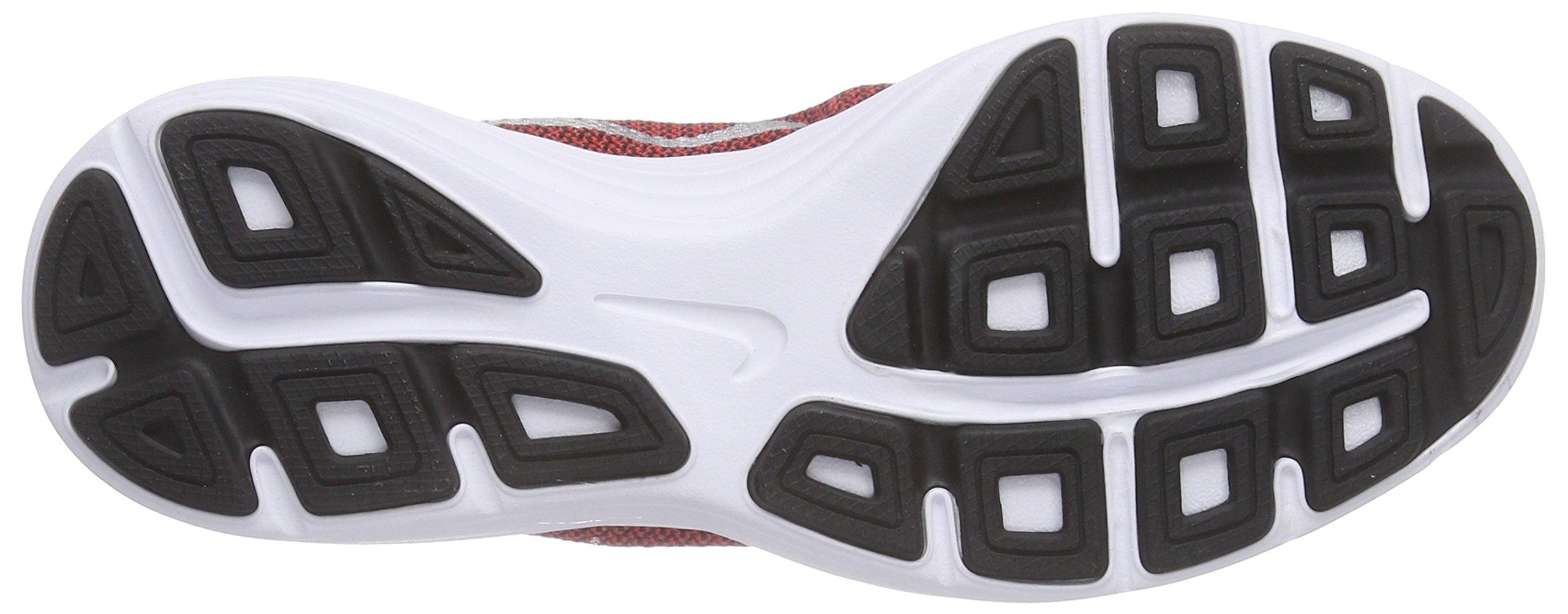 NIKE Boys' Revolution 3 Running Shoe (GS), University Red/Metallic Silver/Black, 4 M US Big Kid by Nike (Image #3)