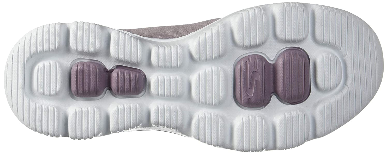 Skechers Damen Slipper GO Walk Walk Walk Evolution Ultra Amazed Grau 397ae0