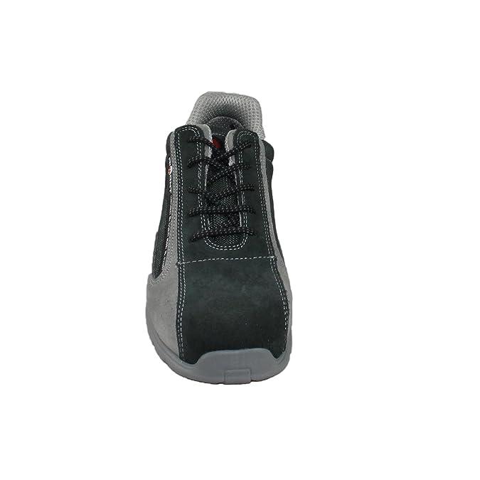 AIMONT - Calzado de protección de Piel para hombre: Amazon.es: Zapatos y complementos