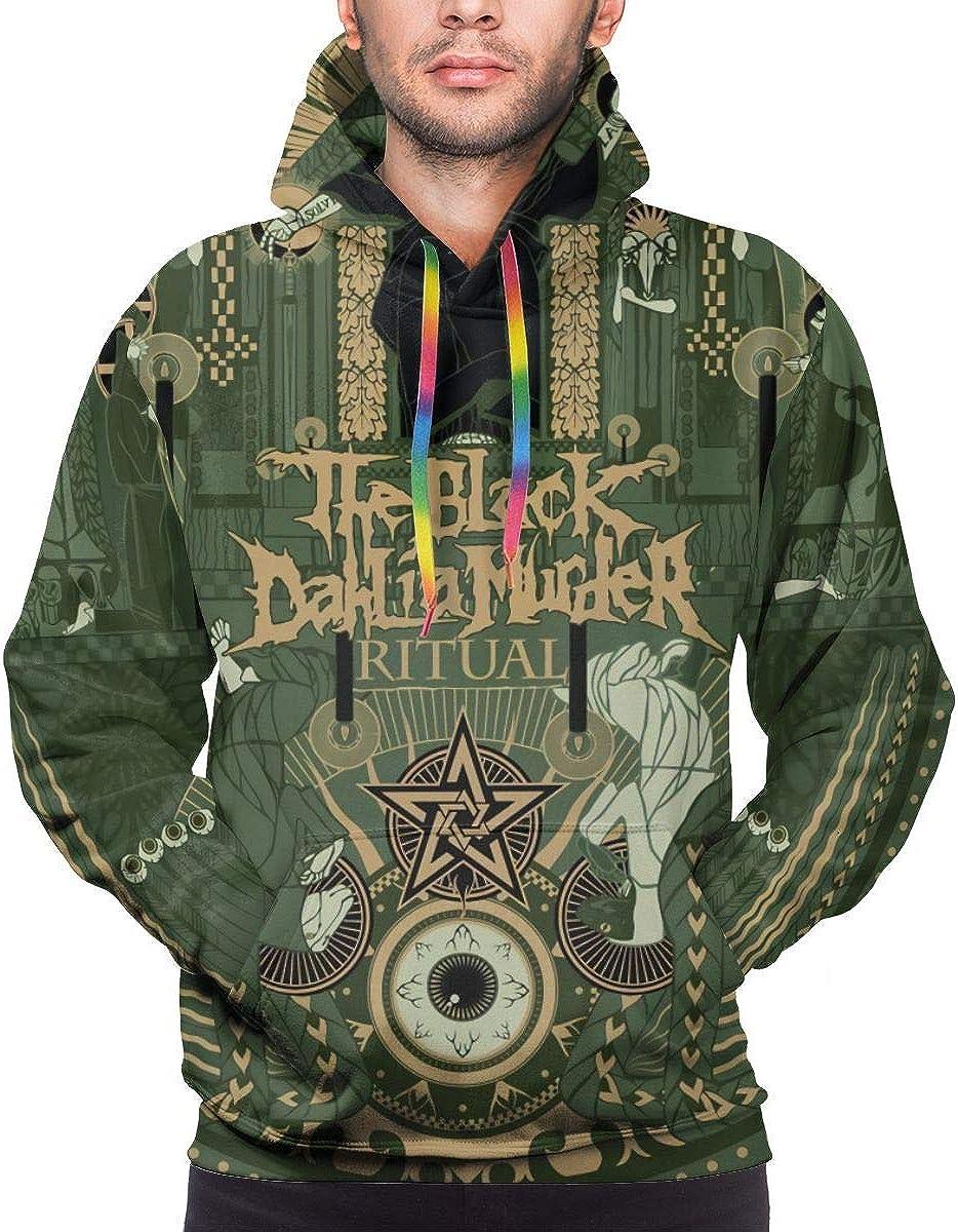 The Black Dahlia Murder Fashion Mens Hoodie White XL
