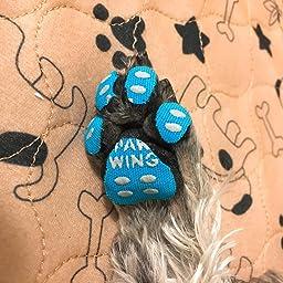 Amazon Paw Wing パウ ウイング 犬 用 パッド くつ ペット 靴下 滑り止め 肉球 保護 傷防止 すべり 止め フット パッド 48枚入り 4枚 12セット ピンク S 暮らしの幸便 服 アクセサリー 通販