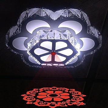 Ymxjb moderne led decke licht anhänger kronleuchter dekor perfekt ...