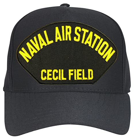 Amazon com: MilitaryBest NAS Cecil Field Ball Cap with