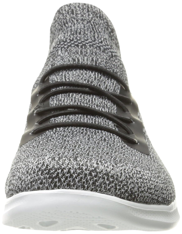 Skechers Damen Go Step Lite Sneakers im mit Slip-on Stil Zum Hineinschlüpfen mit im Einer Zwischensohle aus GOGA Max™ Technology 5GEN® Schwarz (schwarz/Weiß) 836c1c