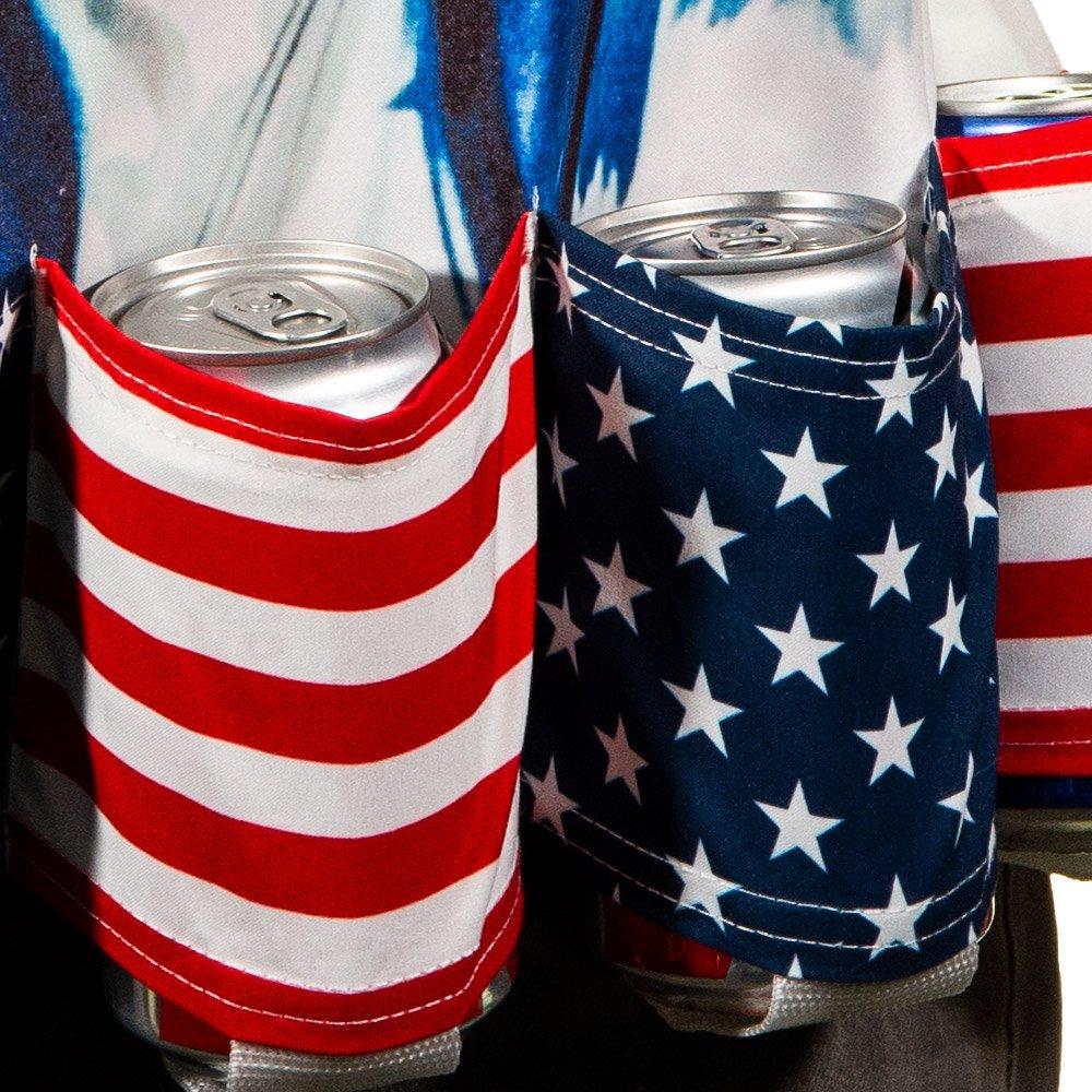 Amazon.com: EE. UU. Soporte de cerveza delantal para ...