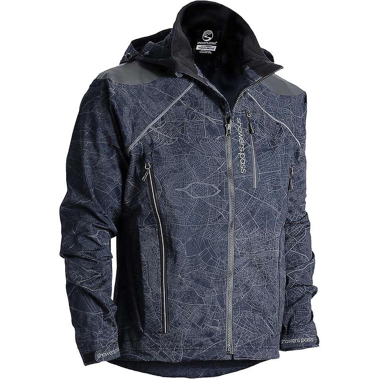 シャワーパス アウター ジャケットブルゾン Showers Pass Men's Atlas Jacket MapREflect 2a8 [並行輸入品] B07412YD2G XL