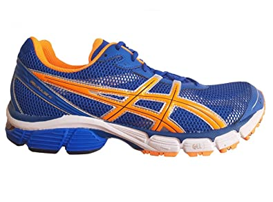 ASICS Gel Pulse 4 Men's Running Shoes BlueNeon Orange T240N