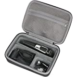 Hard Travel Case for Philips Norelco Multigroom 3100 5100 7100 QG3330/49 QG3364/49 QG3390 attachments Skin-friendly blades by co2CREA