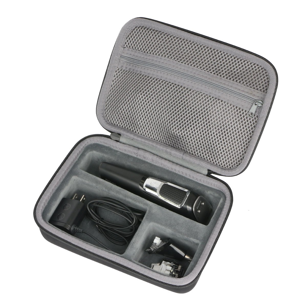 Hard Travel Case for Remington PG6025 PG525 PG6250 PG6171 All-in-1 Lithium Powered Grooming Trimmer Kit by co2CREA