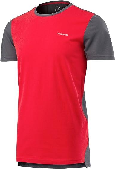 Head Transition S/S Camiseta Deportiva, Hombre: Amazon.es: Ropa y accesorios