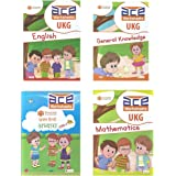 Buy UKG 400 Pages All-in-One ACE Worksheets for Kids Mega Gold Combo ...