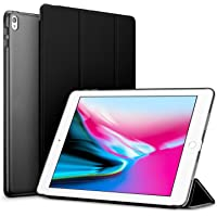 Robustrion Smart Trifold Hard Back Flip Stand Case Cover for iPad Air 3 2019 10.5 inch - Black