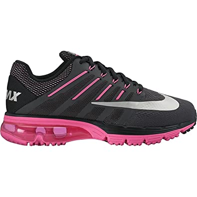 Nike Women's Air Max Excellerate 4 Running Shoes-Grey/Pink-9.5