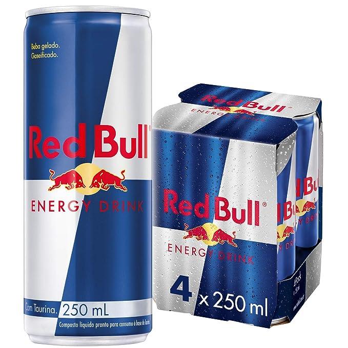 Red Bull - Pack 4 Latas - 4 x 250 ml: Amazon.es: Alimentación y ...