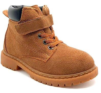 fe114dd8d76d3 Fille Garçon Chaussures Bottes d hiver Enfant Bottines Mode de Neige en  Cuir avec Doublure