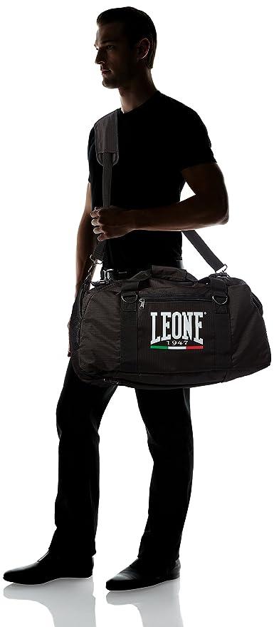 Leona bolsa de deporte negro