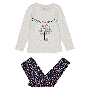 ca1074825b Amazon.com  La Redoute Collections Big Girls Pyjama T-Shirt and ...