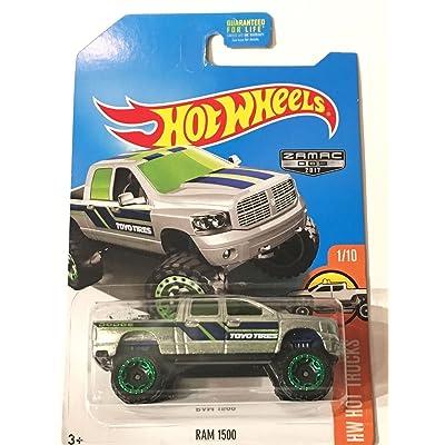 Hot Wheels 2020 HW Hot Trucks Dodge Ram 1500, Exclusive ZAMAC: Toys & Games