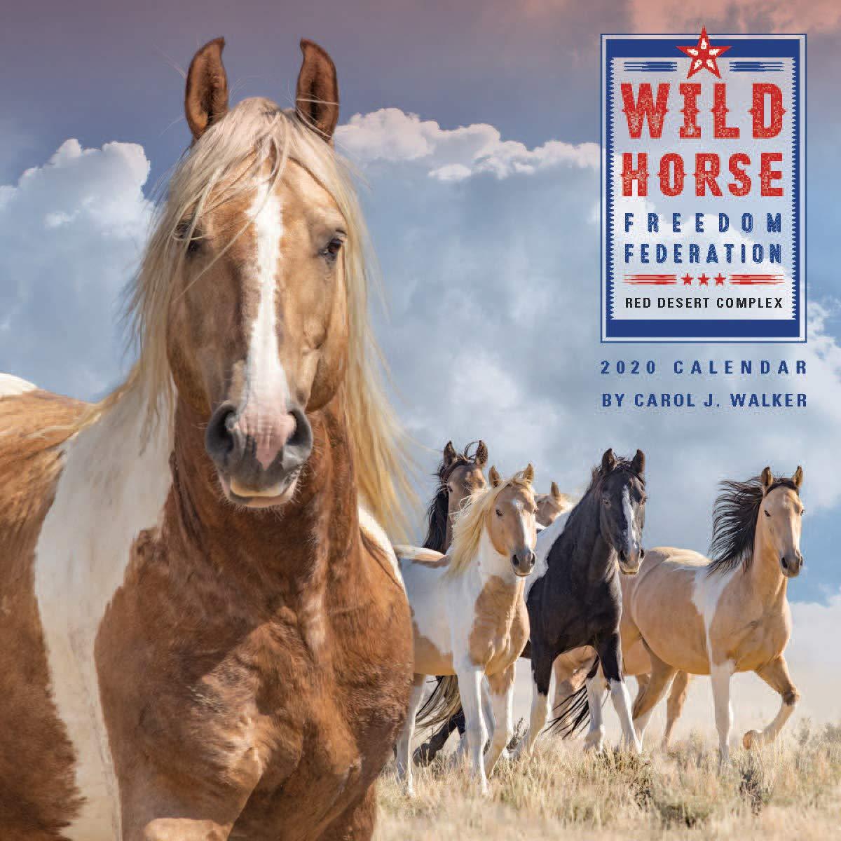 Freedom Calendar 2020 Wild Horse Freedom Federation 2020 Calendar: Carol J. Walker