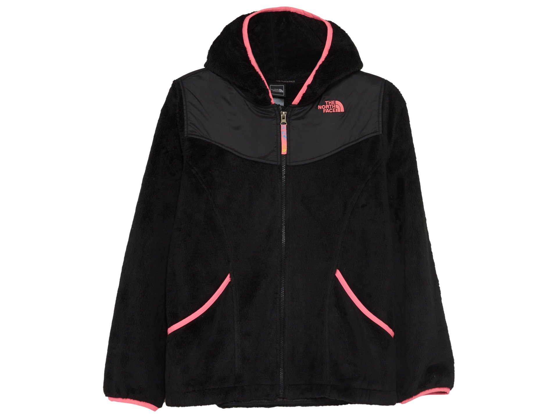 The North Face Girls' Oso Hoodie TNF Black Large