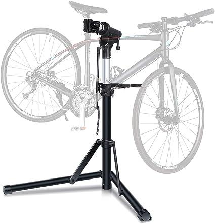 Bike Bicycle Repair Maintenance Stand Folding Workstand Adjustable Holder Repair