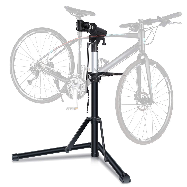 Sportneer Bike Repair Stand, Foldable Bicycle Repair Rack Workstand, Height Adjustable by Sportneer