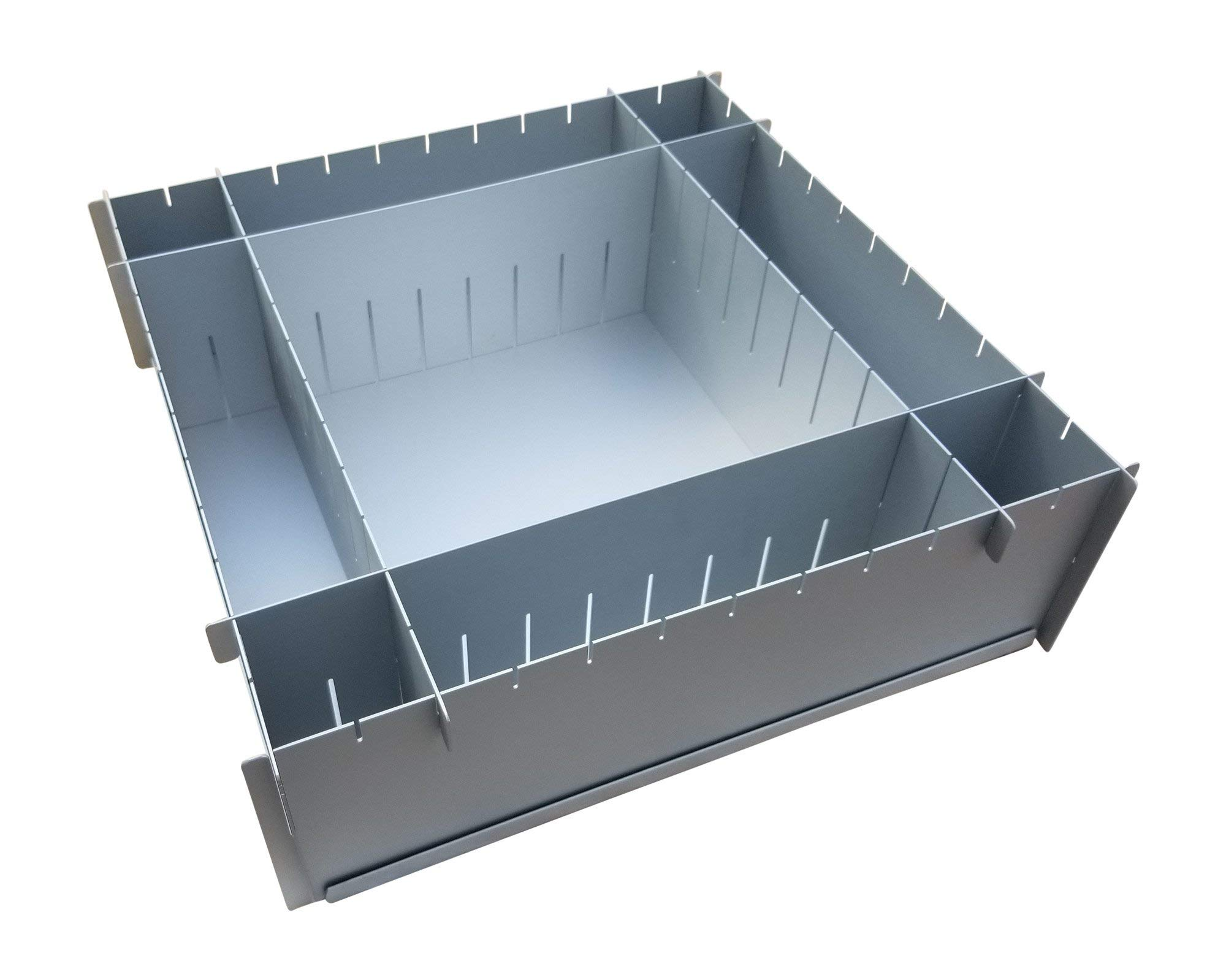 12'' x 4'' Deep Multisize Cake Pan With Extra Set Of Dividers - 4 Dividers Total - By H&L DesignWare by H&L DesignWare (Image #2)