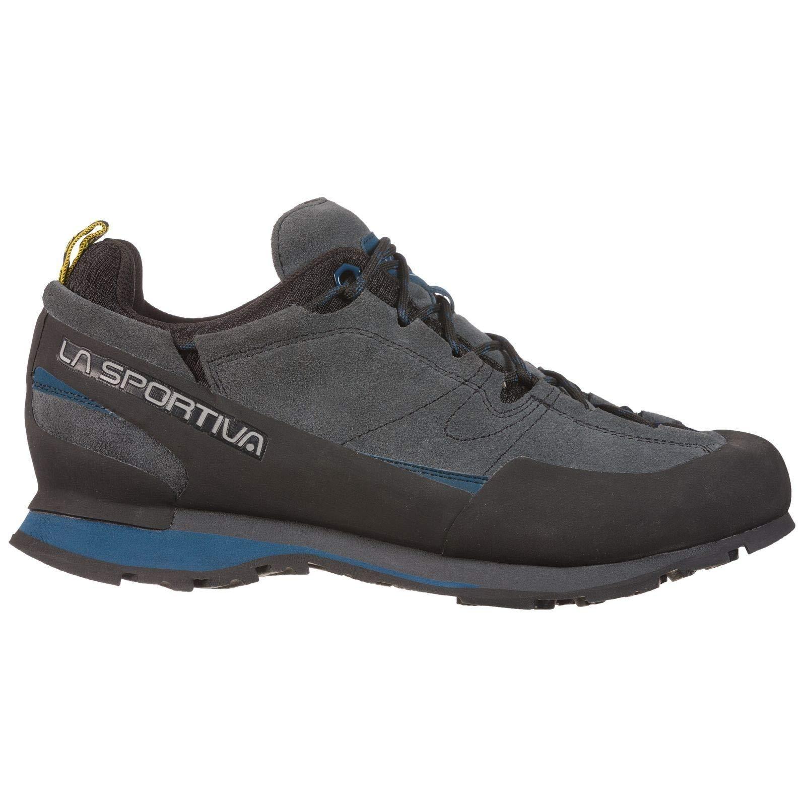 La Sportiva Boulder X Approach Shoe, Carbon/Opal, 43.5 by La Sportiva