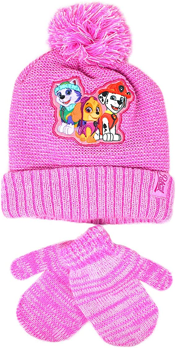noir blanc rose Minnie avec pompon pour enfants et b/éb/é fille /écharpe bonnet hiver original rouge Gant