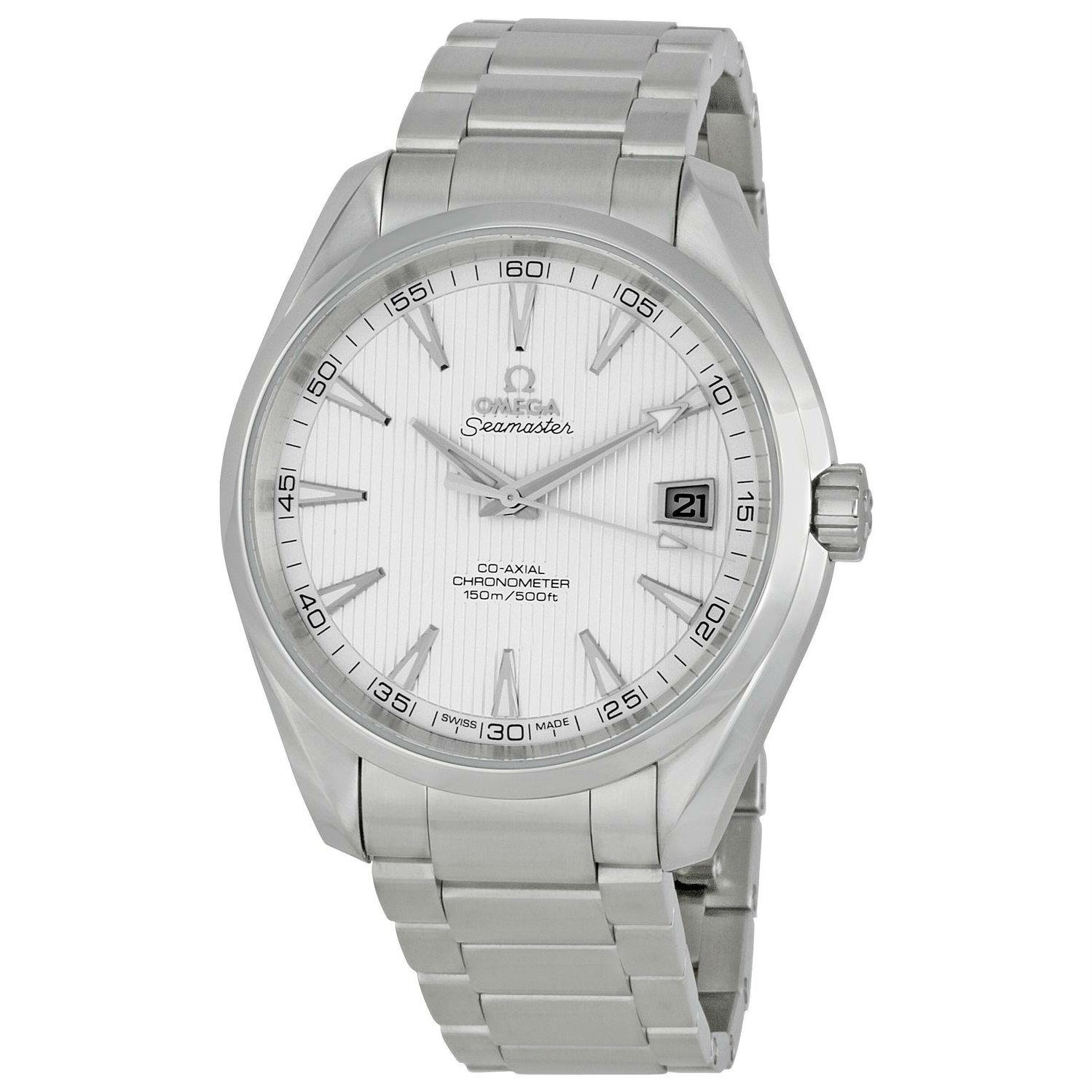 Omega Men s 231.10.42.21.02.001 Seamaster Silver Dial Watch
