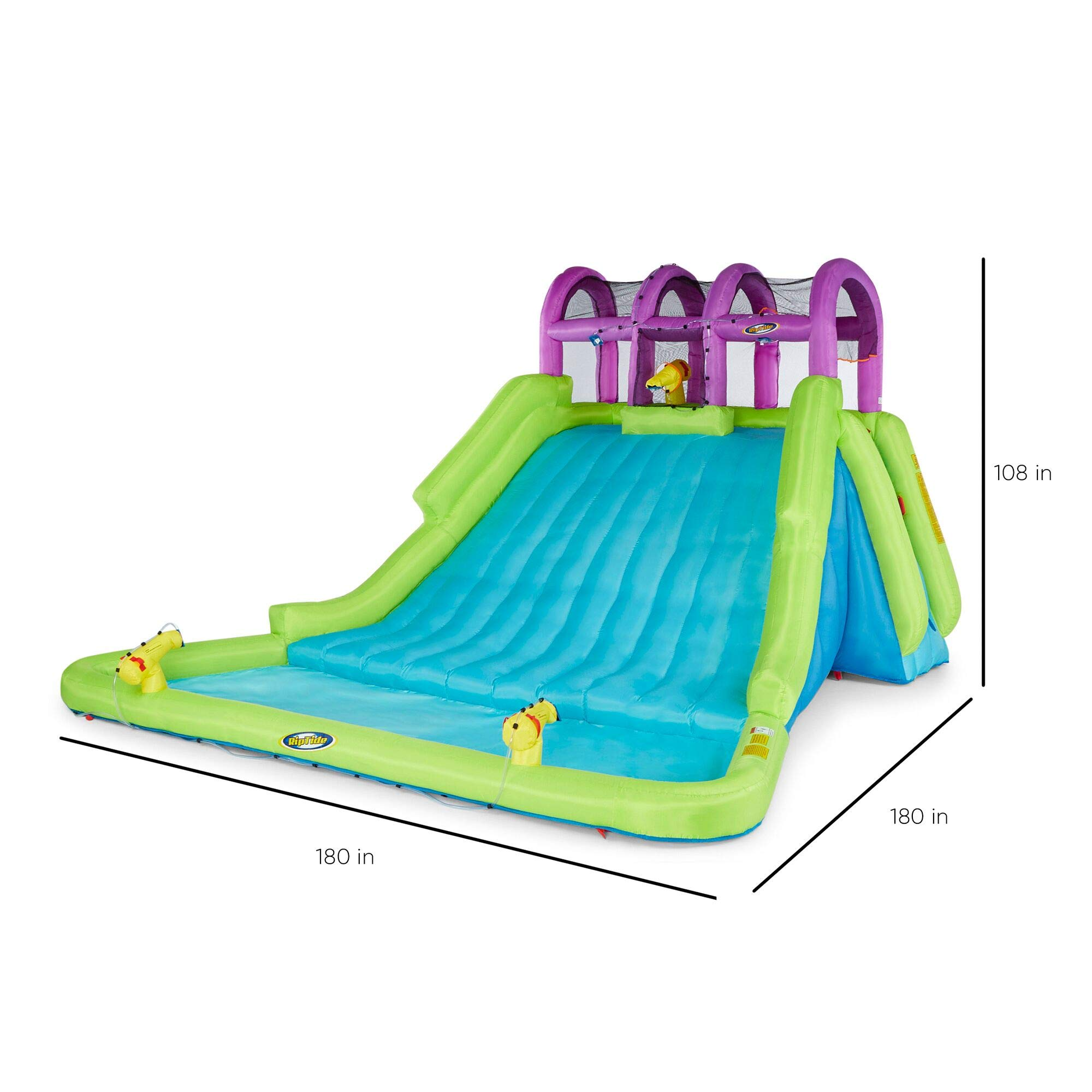 Kahuna Mega Blast Inflatable Backyard Kiddie Pool and Slide Water Park by Kahuna (Image #2)