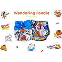 Superbottoms Cloth Diapers Supersoft Reusable Cover Diaper with 1 Stay Dry Soaker - Wandering Foodie