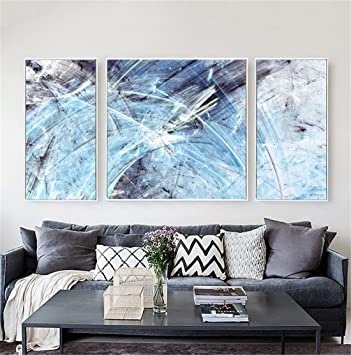 Miwenabstrakt Dekoration Dekorativ Malen Living Dreier Malen Modern