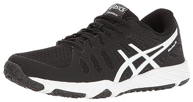 ASICS Women's Gel-Nitrofuze TR Cross-Trainer Shoe, Black/White/White