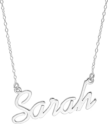 Mon bijou pr/énom Collier Pendentif Sarah Collection Or 40 cm env r/églable