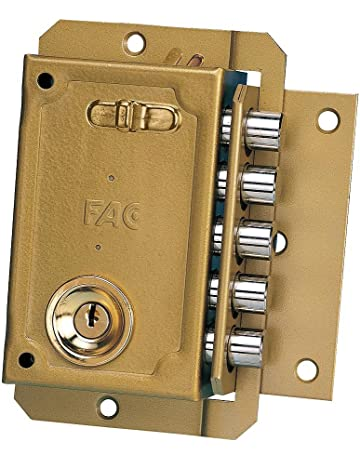 Cerraduras de embutir para puertas | Amazon.es