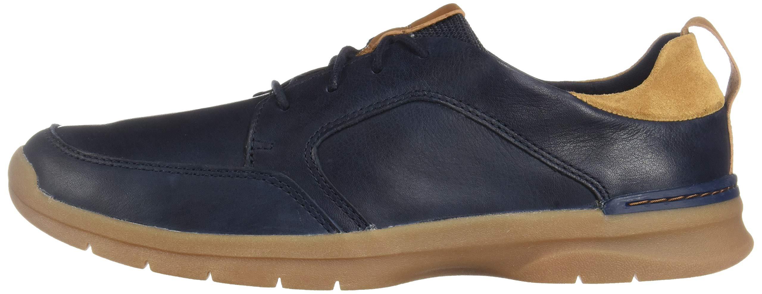 070 Navy Leather CLARKS Men/'s Orlin Vibe Sneaker Choose SZ//color