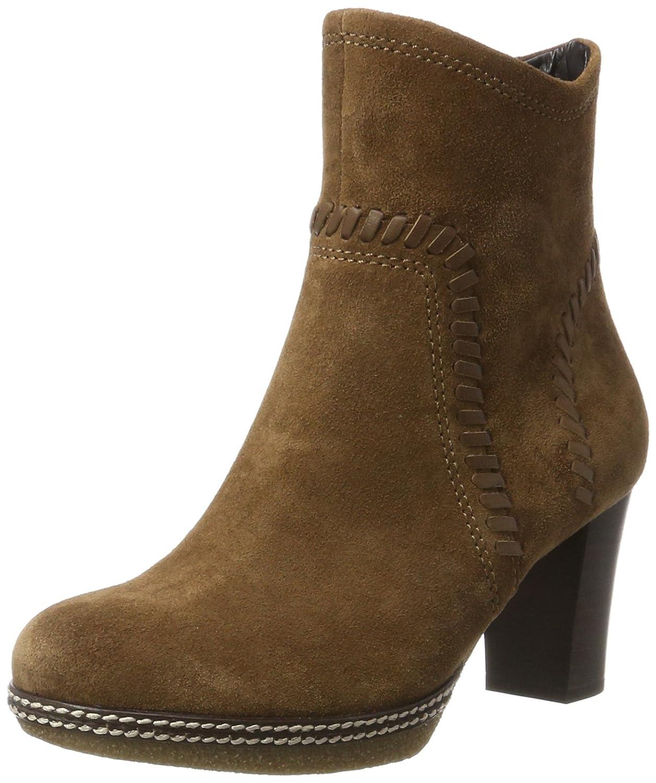 Gabor Shoes Comfort Sport, Botas para Mujer38.5 EU|Marrón (34 Nut Micro)