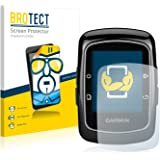 2x BROTECT HD-Clear Protector Pantalla Garmin Edge 200 Película Protectora – Transparente, Anti-Huellas