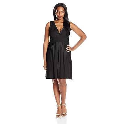 Star Vixen Women's Plus-Size Sleeveless Summer Sun Dress at Women's Clothing store
