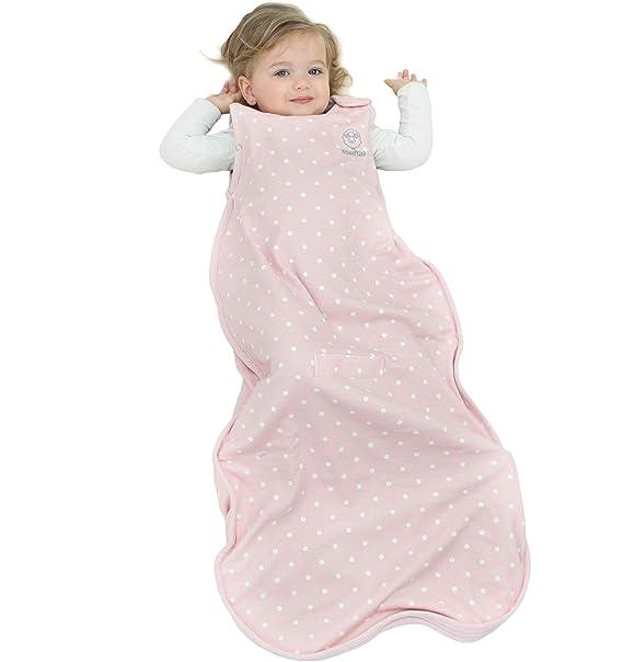 Woolino Saco de dormir de niño - temporada 4 Merino lana para manta 2-4 años Rosa: Amazon.es: Ropa y accesorios