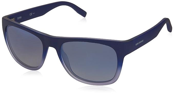 Boss Orange BO 0249/S DK Qwo, Montures de Lunettes Homme, Bleu (Bluee/Flash Bluee Sky), 53