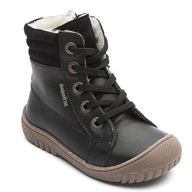 5aaaaa8603d5a Bundgaard Kids Boot Sophia Black Analine: Amazon.co.uk: Shoes & Bags