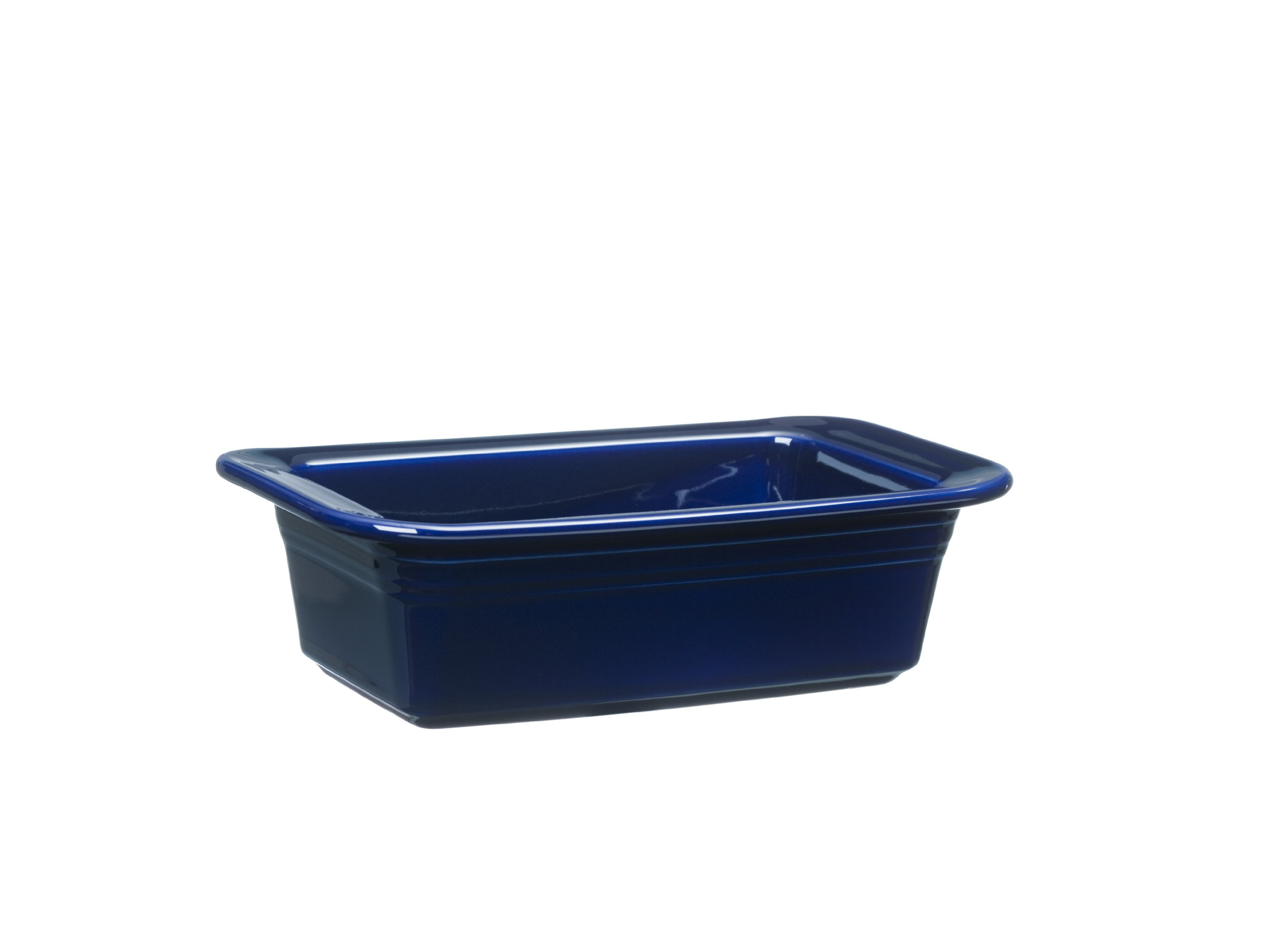 Fiesta 813-105 Loaf Pan, 5-3/4-Inch by 10-3/4-Inch, Cobalt by Homer Laughlin (Image #1)